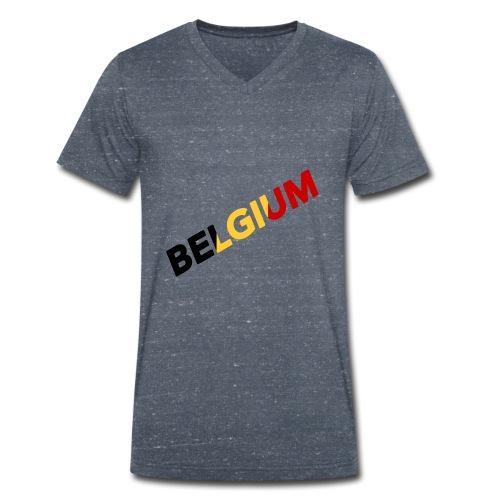BELGIUM - T-shirt bio col V Stanley & Stella Homme