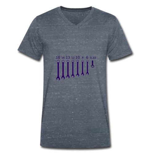CHIAVE INGLESE APRIBOTTIGLIA - T-shirt ecologica da uomo con scollo a V di Stanley & Stella