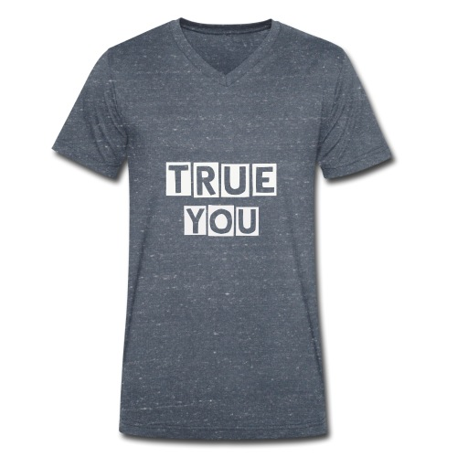 TrueYou - Men's Organic V-Neck T-Shirt by Stanley & Stella