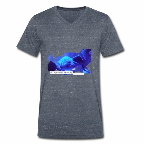 Veganfisch - Männer Bio-T-Shirt mit V-Ausschnitt von Stanley & Stella