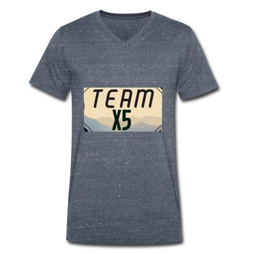 7BB71DB1 43D4 4F7A A954 605057A72CA5 - Men's Organic V-Neck T-Shirt by Stanley & Stella