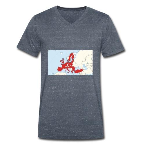 tuerkei - Männer Bio-T-Shirt mit V-Ausschnitt von Stanley & Stella
