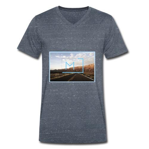 amerika03 - Männer Bio-T-Shirt mit V-Ausschnitt von Stanley & Stella