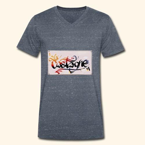 la castagne - T-shirt bio col V Stanley & Stella Homme