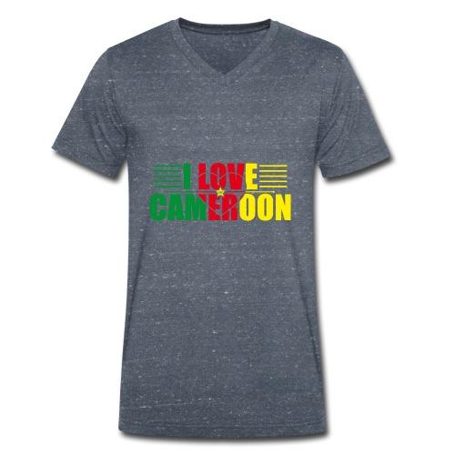 love cameroun - T-shirt bio col V Stanley & Stella Homme