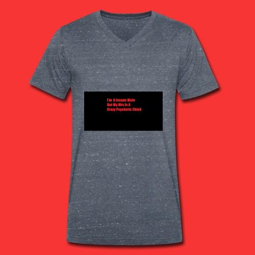Mens - Men's Organic V-Neck T-Shirt by Stanley & Stella