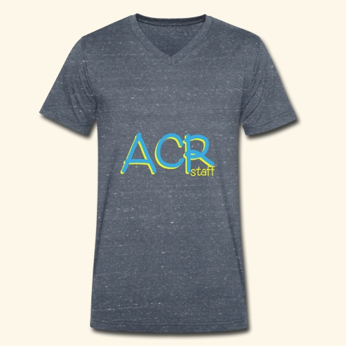 ACR - T-shirt ecologica da uomo con scollo a V di Stanley & Stella