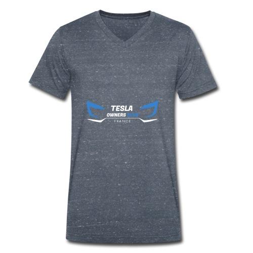 TOCF Logo roadster W - T-shirt bio col V Stanley & Stella Homme