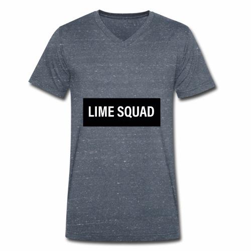 LIME SQUAD V1 - Ekologisk T-shirt med V-ringning herr från Stanley & Stella