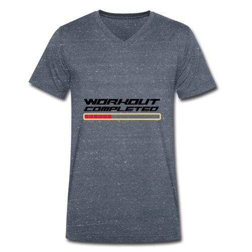 Workout Komplett - Männer Bio-T-Shirt mit V-Ausschnitt von Stanley & Stella