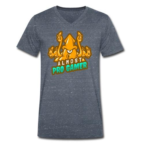 Almost pro gamer YELLOW - T-shirt ecologica da uomo con scollo a V di Stanley & Stella