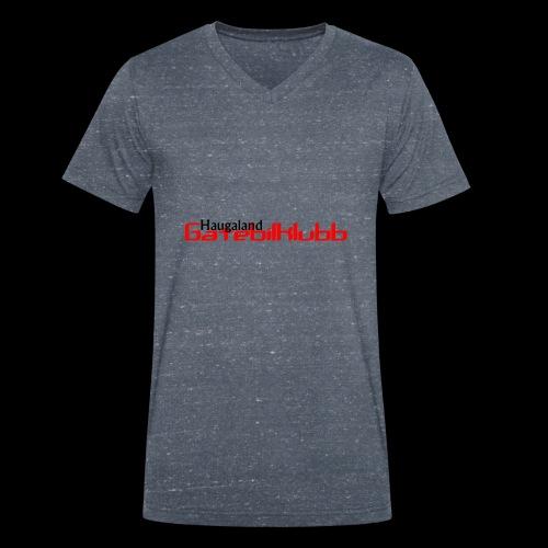LogoHGK copy - Økologisk T-skjorte med V-hals for menn fra Stanley & Stella