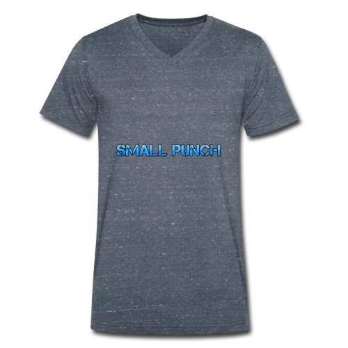 small punch merch - Men's Organic V-Neck T-Shirt by Stanley & Stella
