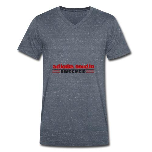 Asociación Adjowa Goudjo - Camiseta ecológica hombre con cuello de pico de Stanley & Stella