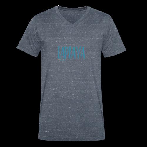 playa - Camiseta ecológica hombre con cuello de pico de Stanley & Stella