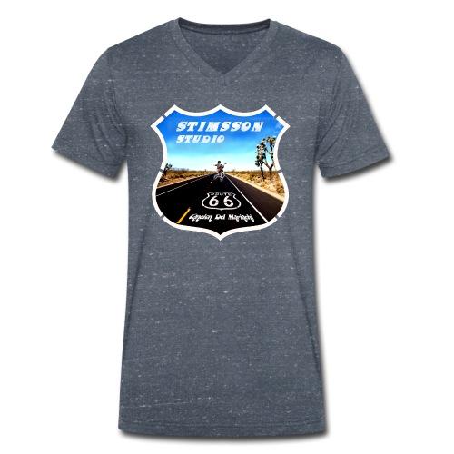 STIMSSON STUDIO - Ekologisk T-shirt med V-ringning herr från Stanley & Stella