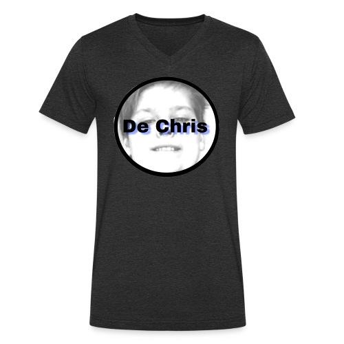 De Chris logo - Mannen bio T-shirt met V-hals van Stanley & Stella