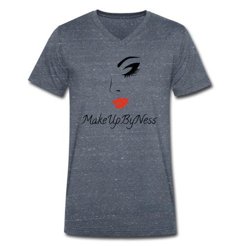 MakeUpByNess - Men's Organic V-Neck T-Shirt by Stanley & Stella