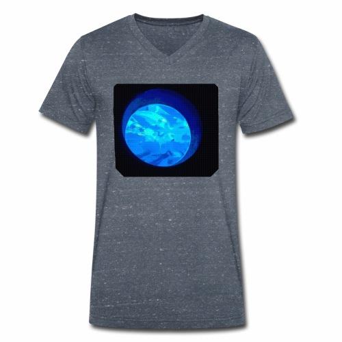 Fischbowl - Männer Bio-T-Shirt mit V-Ausschnitt von Stanley & Stella