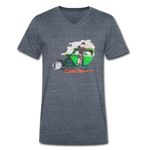 Fall - Männer Bio-T-Shirt mit V-Ausschnitt von Stanley & Stella