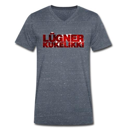 luegner kukelikki png - Männer Bio-T-Shirt mit V-Ausschnitt von Stanley & Stella