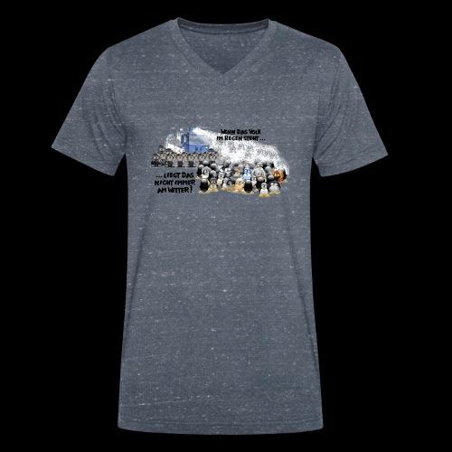 tux demo - Männer Bio-T-Shirt mit V-Ausschnitt von Stanley & Stella