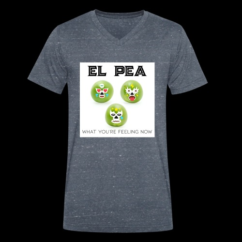 EL Pea - What You re Feeling Now - Men's Organic V-Neck T-Shirt by Stanley & Stella