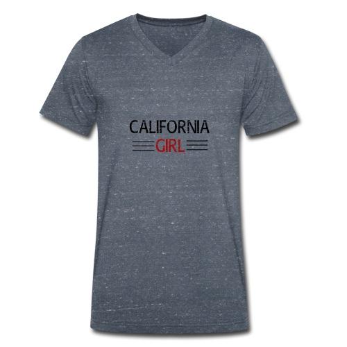 california girl - Männer Bio-T-Shirt mit V-Ausschnitt von Stanley & Stella