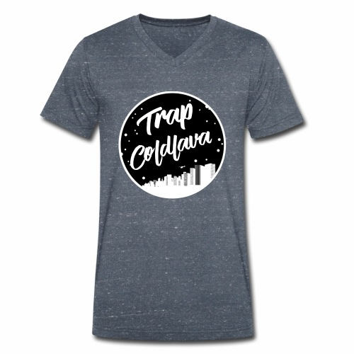 TrapColdLava - Men's Organic V-Neck T-Shirt by Stanley & Stella