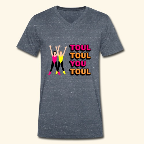 Toul Toul You Toul - T-shirt bio col V Stanley & Stella Homme