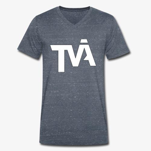 TVÅHUNDRA VIT - Ekologisk T-shirt med V-ringning herr från Stanley & Stella
