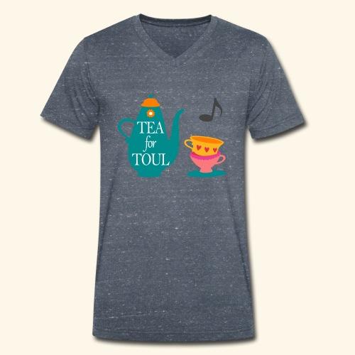 Tea for Toul - T-shirt bio col V Stanley & Stella Homme