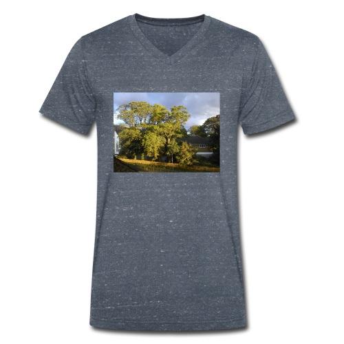 Trees - Men's Organic V-Neck T-Shirt by Stanley & Stella