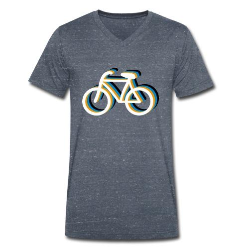 Bicycle Fahrrad - Männer Bio-T-Shirt mit V-Ausschnitt von Stanley & Stella