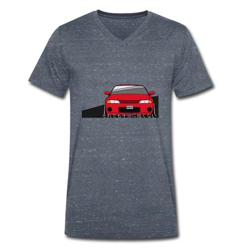 Skyline - Men's Organic V-Neck T-Shirt by Stanley & Stella