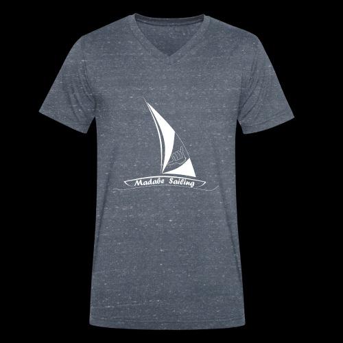 Madabe Sailing3 - Männer Bio-T-Shirt mit V-Ausschnitt von Stanley & Stella
