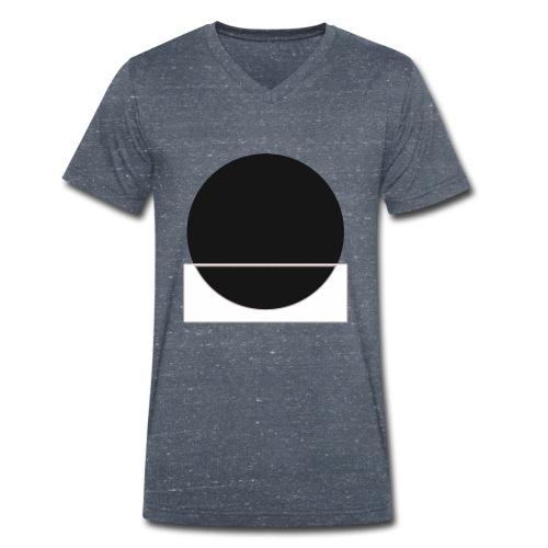 Bianco e nero - Men's Organic V-Neck T-Shirt by Stanley & Stella