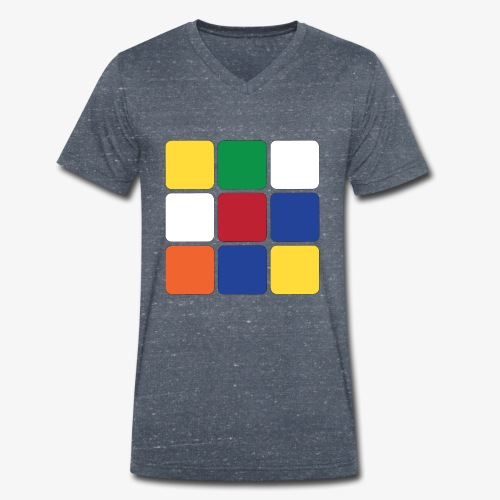 Square - T-shirt ecologica da uomo con scollo a V di Stanley & Stella