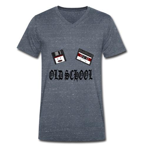 Old School Design - Männer Bio-T-Shirt mit V-Ausschnitt von Stanley & Stella