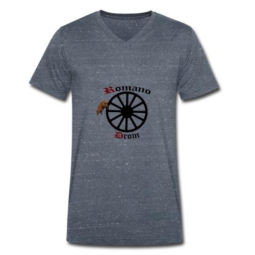 626878 2406580 lennyromanodromutanbakgrundsvartbjo - Ekologisk T-shirt med V-ringning herr från Stanley & Stella