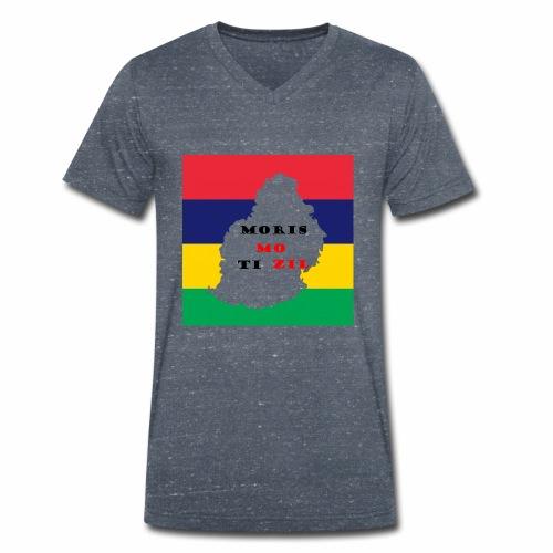 MORIS MOTIZIL - T-shirt bio col V Stanley & Stella Homme