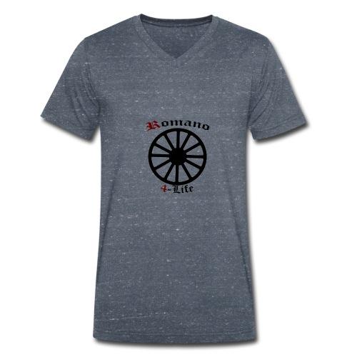romano4life - Ekologisk T-shirt med V-ringning herr från Stanley & Stella