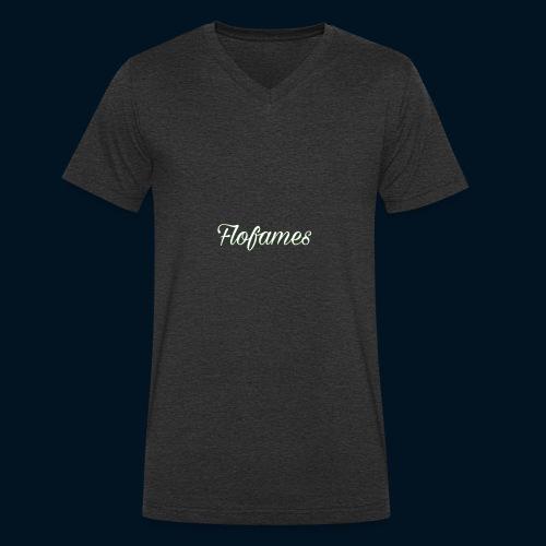 camicia di flofames - T-shirt ecologica da uomo con scollo a V di Stanley & Stella