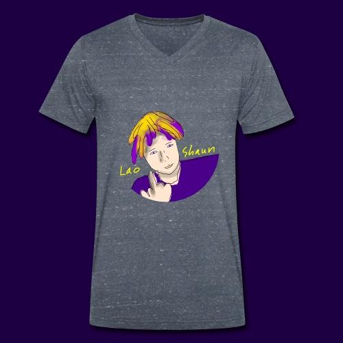 Original Lao Shaun - Økologisk T-skjorte med V-hals for menn fra Stanley & Stella