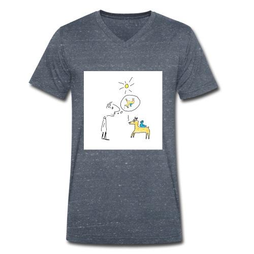 comprend qui peut - T-shirt bio col V Stanley & Stella Homme