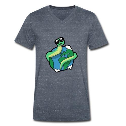 Jormungand Ouroboros - T-shirt bio col V Stanley & Stella Homme