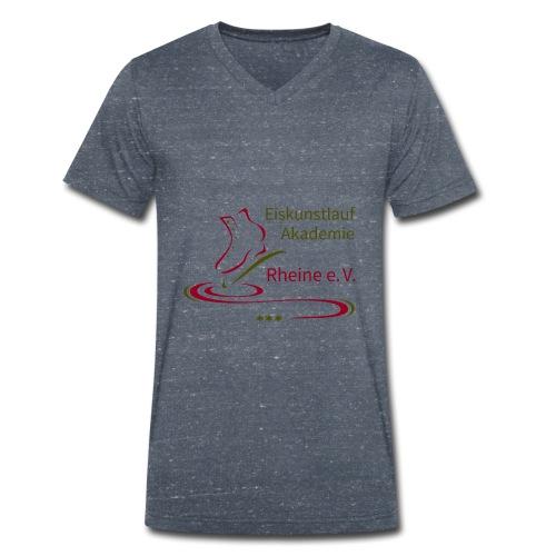 Original Logo Eiskunstlauf Akademie Rheine e.V. - Männer Bio-T-Shirt mit V-Ausschnitt von Stanley & Stella