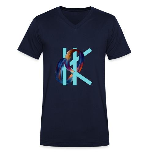 OK - Men's Organic V-Neck T-Shirt by Stanley & Stella