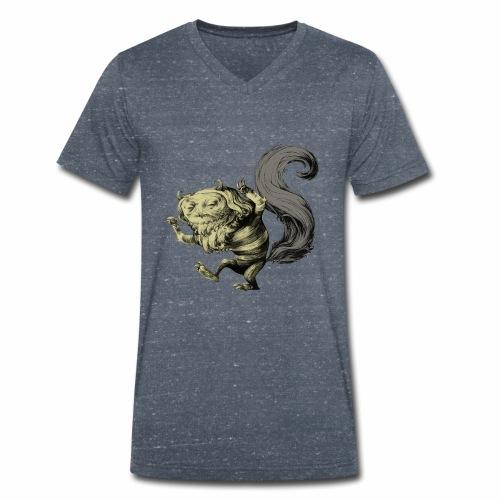 Wilder Kerl - Männer Bio-T-Shirt mit V-Ausschnitt von Stanley & Stella