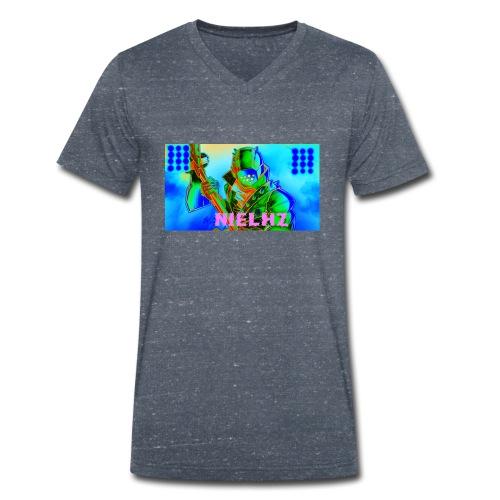 Niel Forntnite - Camiseta ecológica hombre con cuello de pico de Stanley & Stella